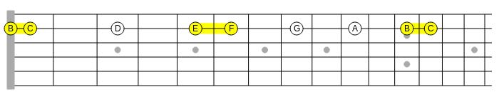 one_string_half_steps